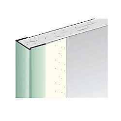 Beadex Paper-Faced Metal Trim, B9 1/2 in. J Trim, 8 ft.