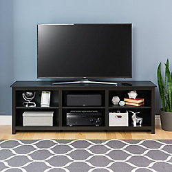 Prepac Sonoma 72-inch TV Stand in Black