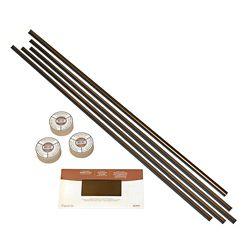 Fasade Bronze Huilé Ens. d'accessoires assortis avec bande adhésive et recouvrement de plaques