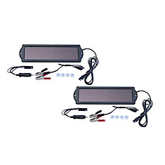 1.5-Watt Solar Panel 12-Volt Battery Maintainer (2-Pack)