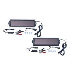 Nature Power 1.5-Watt Solar Panel 12-Volt Battery Maintainer (2-Pack)
