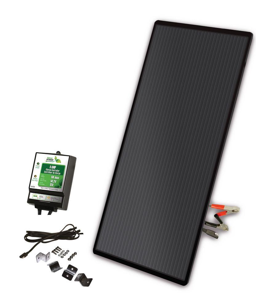 Watt Meter Home Depot Canada: Coleman 300 Watt 12 Volt Solar Backup Kit