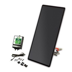 Nature Power 22-Watt Amorphous Solar Panel Charging Kit with 8 Amp Charge Controller for 12-Volt Systems