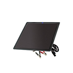 7.5-Watt Amorphous Solar Battery Trickle Charger for 12-Volt Systems