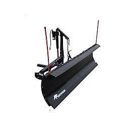 SNOWBEAR Pro Shovel 84 inch x 22 inch Snow Plow for 2 inch Front Mounted Receiver with Actuator Lift System