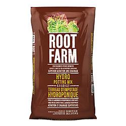 Root Farm Terreau D'Empotage Hydroponique  0.3-0.03-0.27 28.3L
