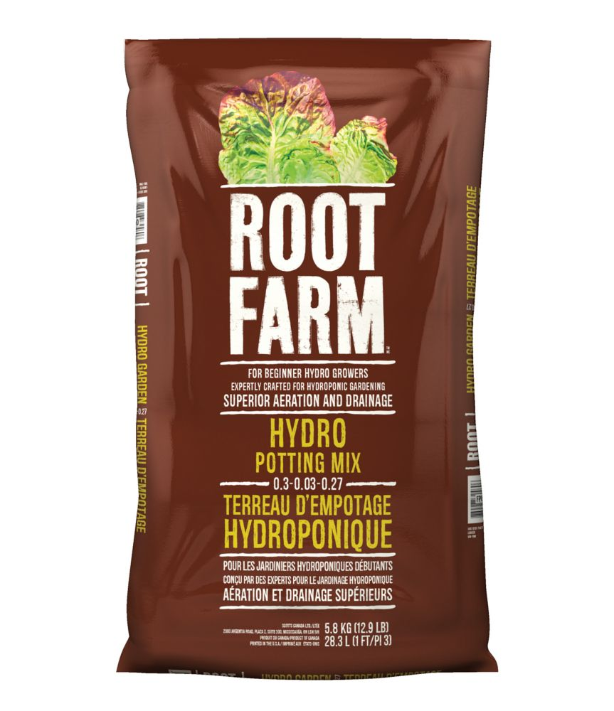 Root Farm Hydro Potting Mix 0.3-0.03-0.27 - 28.3L