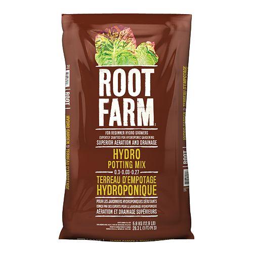 Root Farm 28.3 L Hydro Potting Mix 0.3-0.03-0.27