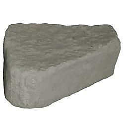 RTS Home Accents Landscape Rock - Right Triangle in Oak/Armor Stone