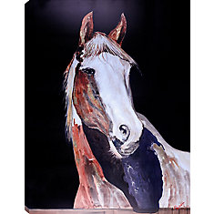 36x48 HORSE III, Acrylic Painting on Canvas, Ready to Hang