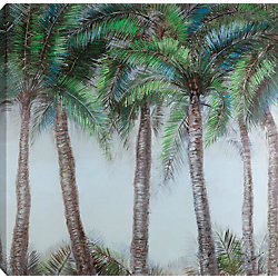 "Art Maison Canada ""40x40 PALMS, Acrylic Painting on"""