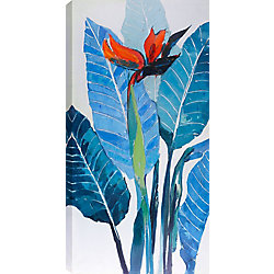 Art Maison Canada 24x48 TROPICAL II, Acrylic Painting on Canvas, Ready to Hang