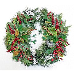 Henryka Decorated Wreath