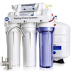WQA Gold Seal 5-Stage Superior Quality Under Sink Reverse Osmosis Drinking Water Filtration System