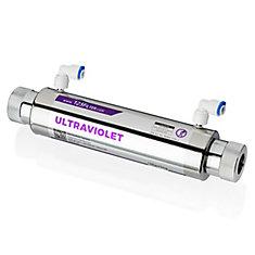 UVF11A UV Disinfection Sterilizer Water Filter w/ Smart Flow Sensor Switch