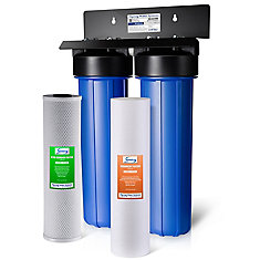 WGB22B 2-Stage Whole House Water Filtration System