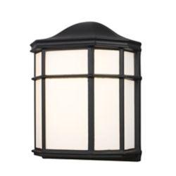 Bel Air Lighting Andrews 1-Light Black Wall Lantern