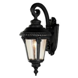 Bel Air Lighting Commons 1-Light Black Wall Lantern