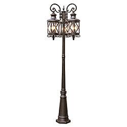 Bel Air Lighting Chandler 9-Light Pole Light in Oil Rubbed Bronze