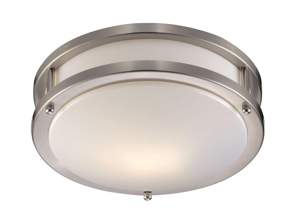 Shop Sea Gull Lighting 3 Light Melody Brushed Nickel: Bel Air Lighting 3- Light Brushed Nickel Vanity Light