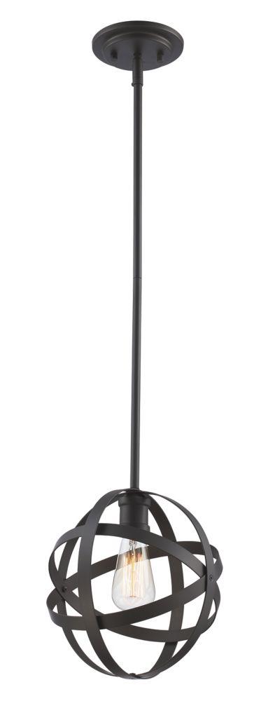 Bel Air Lighting Sphynx 1-Light Rubbed Oil Bronze Pendant Light Fixture