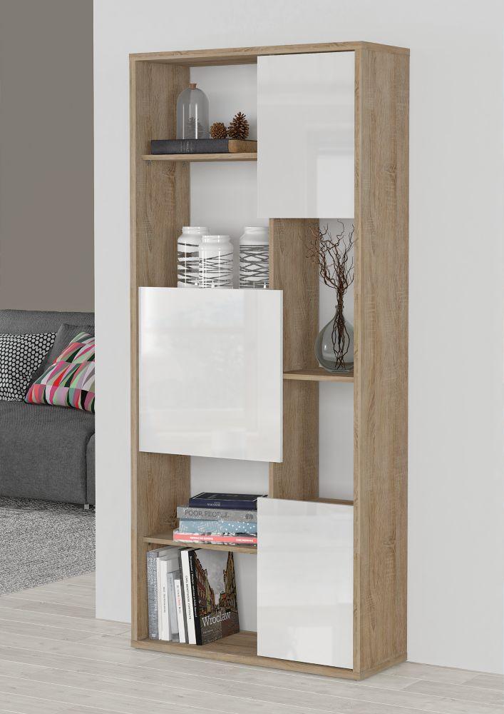primo meuble de separation bibliotheque canal blanc home depot canada. Black Bedroom Furniture Sets. Home Design Ideas