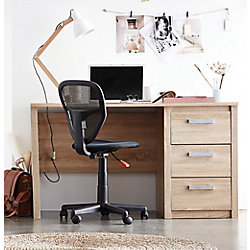 PRIMO MADISON JUVENILE DESK 1 DOOR, 1 DRAWER - BRUSHED OAK