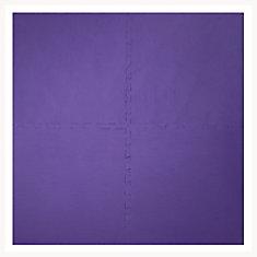 Purple 24-inch X 24-inch Anti-Fatigue Interlocking Mats (4 Pack)