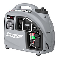 Energizer 2,000W Gas Powered Portable Inverter Generator with USB