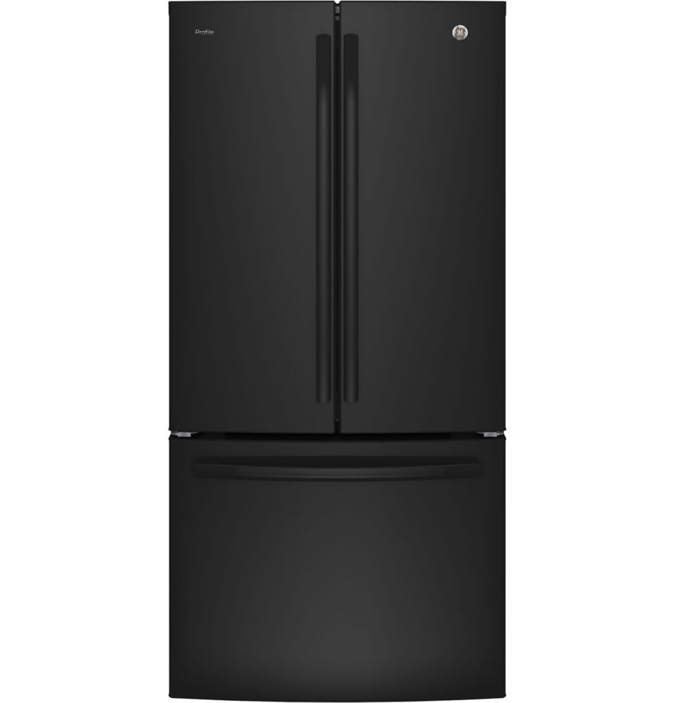 GE Profile 24.8 cu.ft. French Door Bottom-Mount Refrigerator - Black