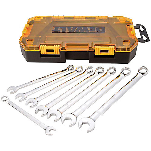 Combination Metric Wrench Set (8 Piece)