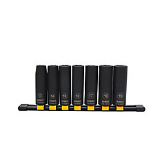 Deep Impact Socket Set (Metric) (7 Piece)