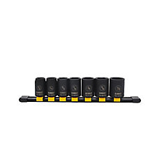 Impact Socket Set (SAE) (7 Piece)