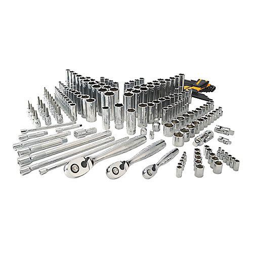 Chrome Vanadium Mechanics Tool Set (192-Piece)