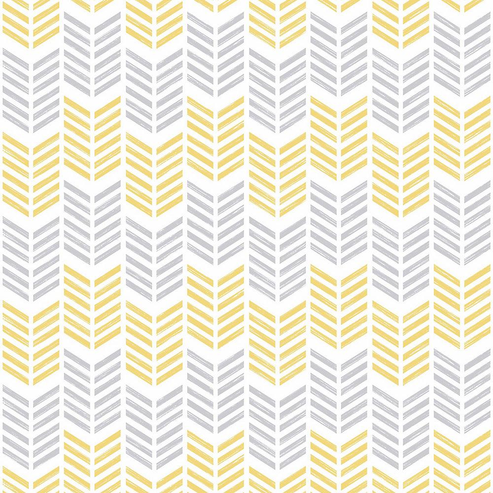 Remarkable Oiti Yellow Symmetry Removable Wallpaper Sample Interior Design Ideas Skatsoteloinfo