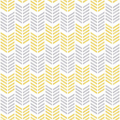 Oiti Yellow Symmetry Removable Wallpaper Sample