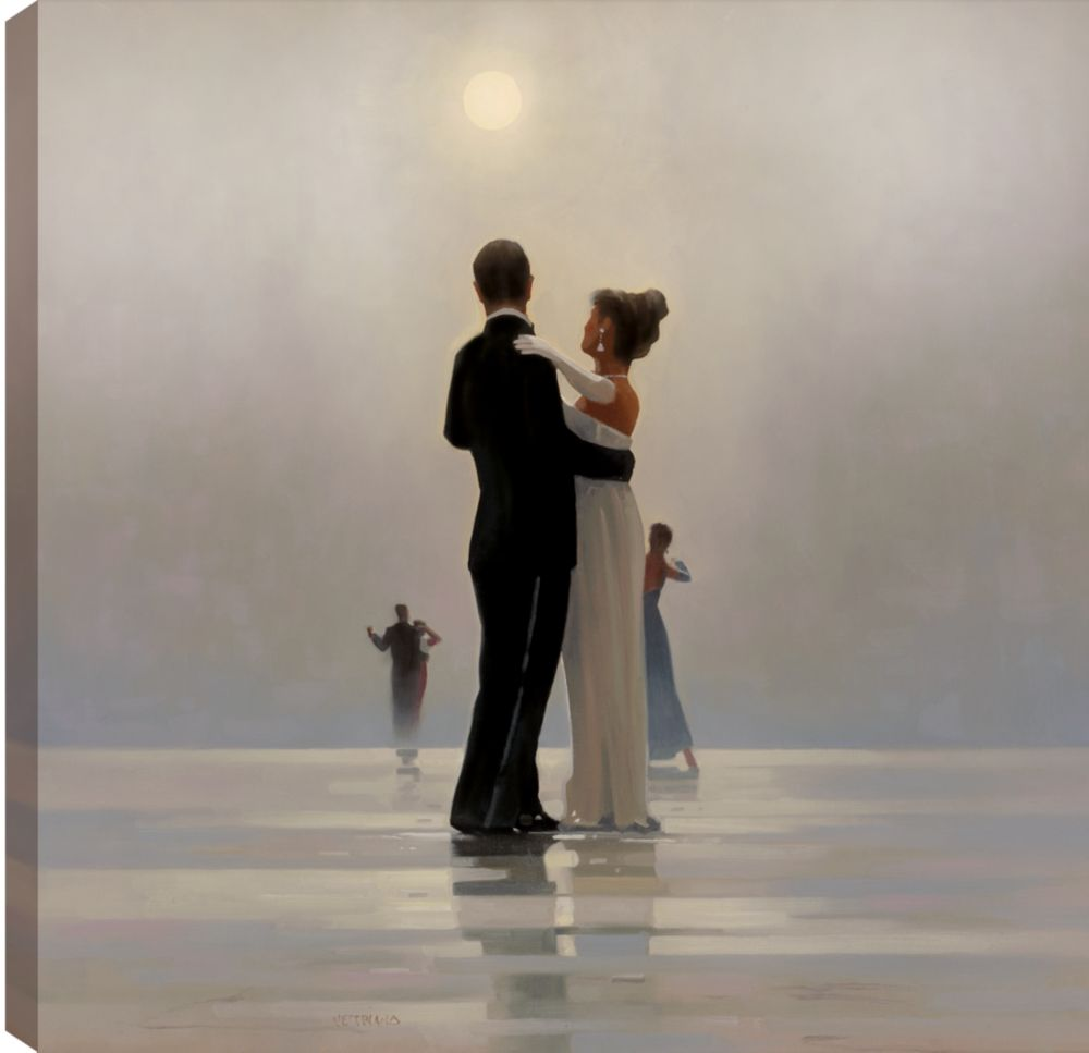Art Maison Canada 24X24 Dance me till the End of Love, Printed canvas gallary wrapped romantic wall art