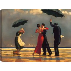 Art Maison Canada 34X26 The singing Butler, Printed canvas gallary wrapped dancing in the rain wall art