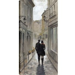 Art Maison Canada 24X48 A Walk to Remember, Printed canvas gallery wrapped wall art