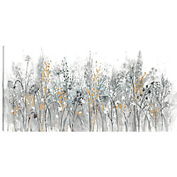 Art Maison Canada 24X48 Floral, Printed canvas gallary wrapped wall art