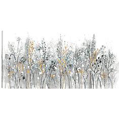 24 x 48 Floral, imprimé toile art pariétal enveloppé gallary