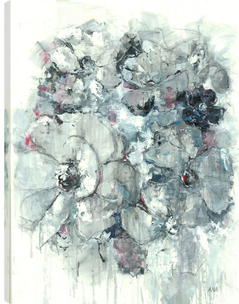 Art Maison Canada 30X40 Floral Bouquet 2, Printed canvas gallary wrapped wall art
