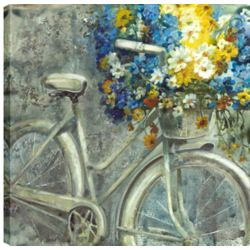 Art Maison Canada 36X36 Antique Bicycle, Printed canvas gallery wrapped wall art