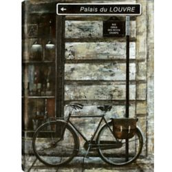 Art Maison Canada 30X40 Bike Ride, Printed canvas gallery wrapped wall art