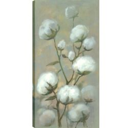 Art Maison Canada 24X48 White Blooms, Printed canvas gallary wrapped wall art