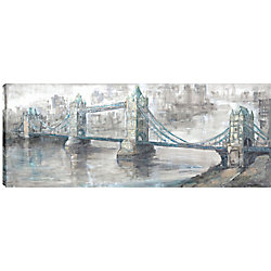 Art Maison Canada 20X50 Bridge, Printed canvas gallary wrapped wall wart