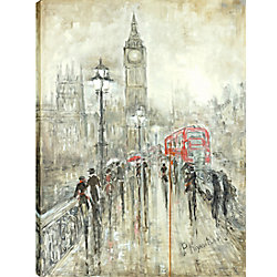 Art Maison Canada 30X40 Sightseeing, Printed gallery wrapped wall art