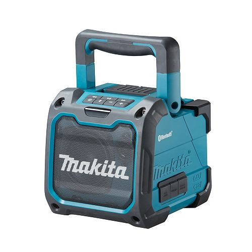 MAKITA Cordless or Electric Jobsite Speaker with Bluetooth
