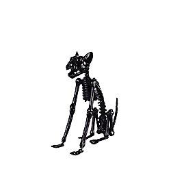 Home Accents Halloween 15-inch LED-Lit Skeleton Black Cat Halloween Decoration