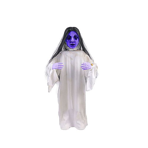 Home Accents 36-inch Creepy Animated Ghoul Girl